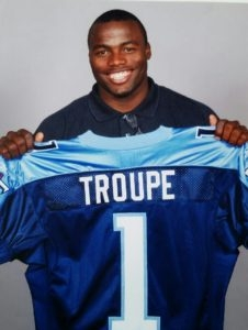 Former NFL Champion  Ben Troupe from American Football gives a New Meaning To Life with his New Goals