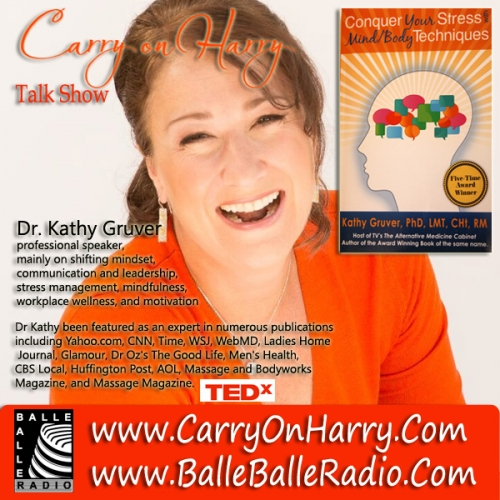 Dr. Kathy Gruver stress, mindfulness and mindset author, speaker and educator